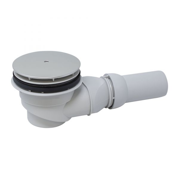 Siphon komplett (Ersatzteil), waagerecht, D=90 mm