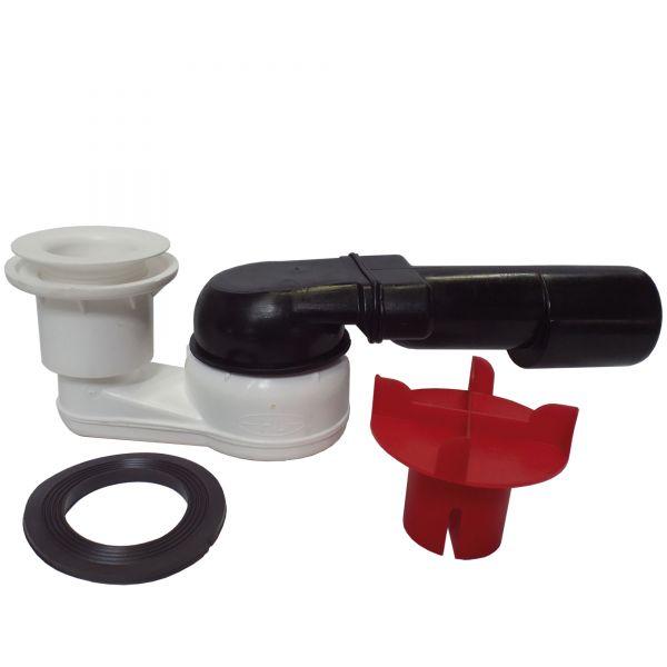 Siphon komplett (Ersatzteil) für Duschwannen mit Ablaufrinne