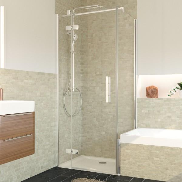 Avanta Badewannenseitenwand für Drehtür