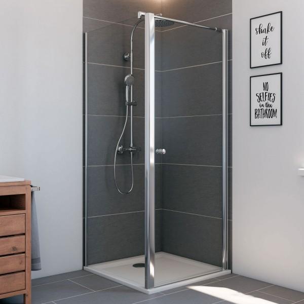 Elana6: Drehtür rechts für Seitenwand & Badewannenseitenwand