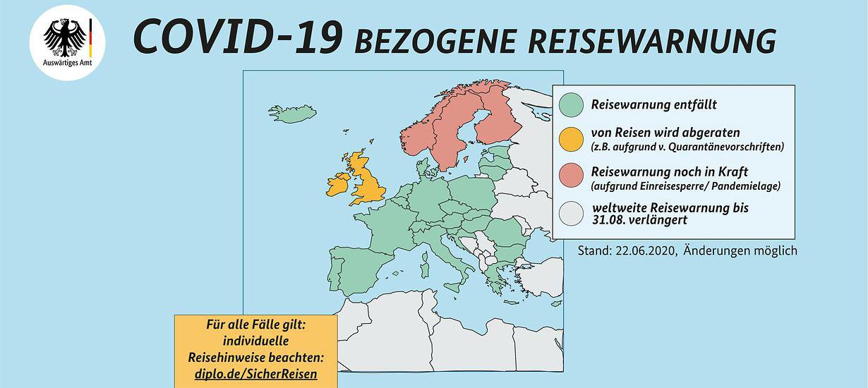 Reisewarnungen-Grafik