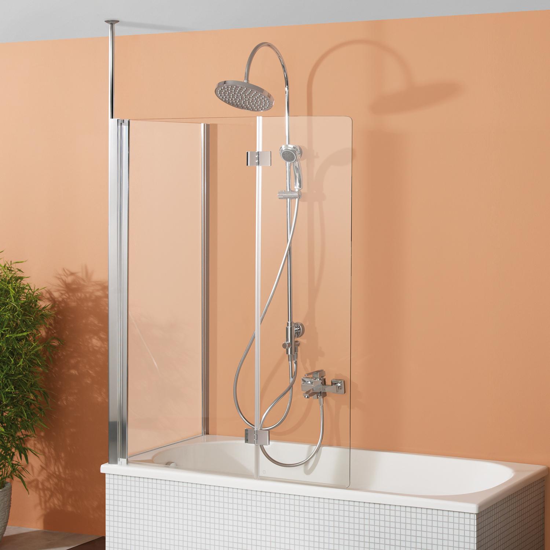 fara 5 badewannenaufsatz 2 teilig mit seitenwand breuer. Black Bedroom Furniture Sets. Home Design Ideas