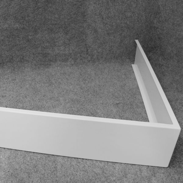 Aluminiumschürze für Quadrat-Mineralgusswannen Typ 1884 und Typ 1880