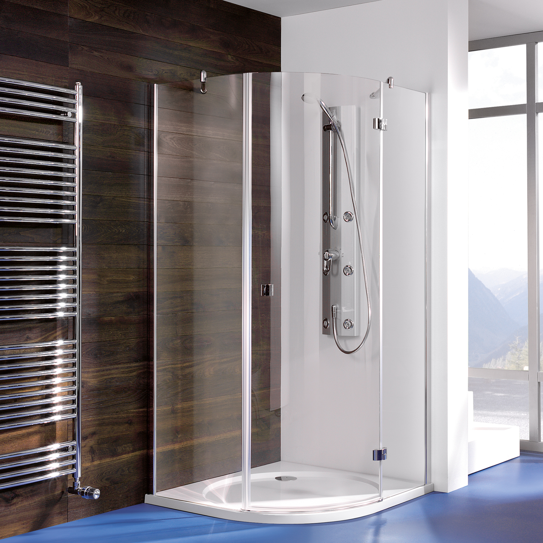 espira runddusche dreht r mit festteil und nebenteil breuer. Black Bedroom Furniture Sets. Home Design Ideas