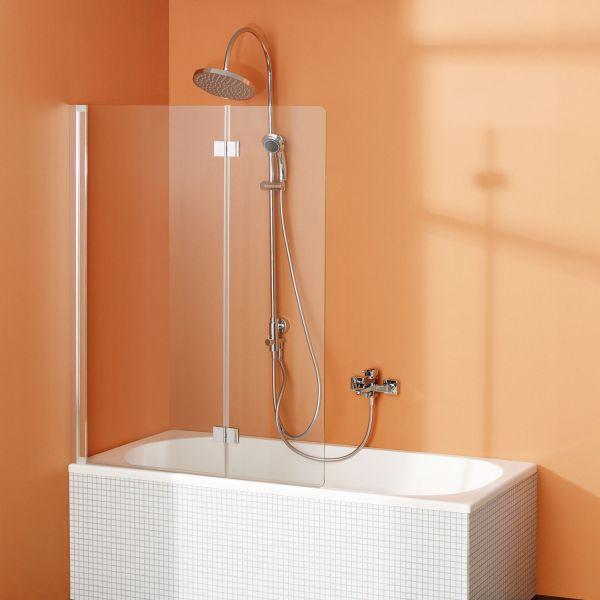 Badewannenaufsatz Fara 5: Drehfalttür zweiteilig