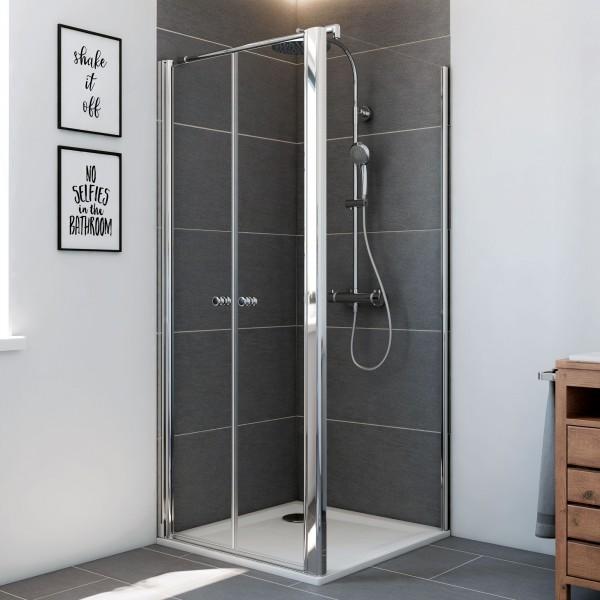 Elana 6: Pendeltür für Seitenwand & Badewannenseitenwand