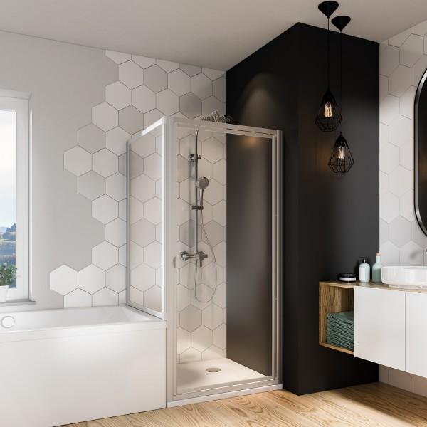Fara 4 Badewannenseitenwand für Drehtür, Klapptür oder Schiebetür