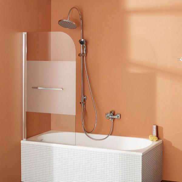Fara 5 Badewannenaufsatz, Pendeltür mit Stangengriff