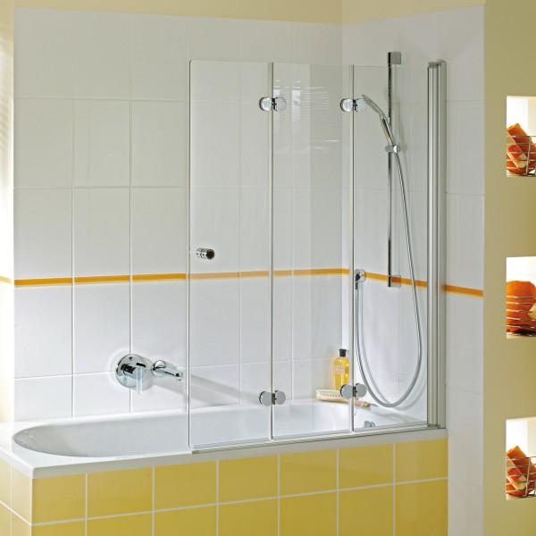 Elana Komfort Badewannendrehfalttür 3-teilig, Anschlag rechts